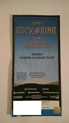 General Camping / Parking Ticket Rock am Ring 2019