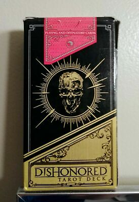 Dishonored Tarot Card Deck - Box Open with wear, Cards in Excellent Condition