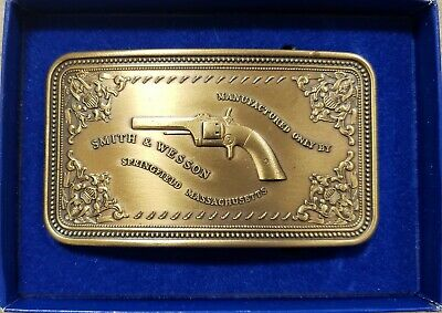 Smith & Wesson belt buckle