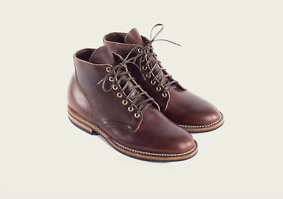 Viberg Natural Chromexcel Service Boot in Brown CXL Size 9 2030 Last w/ Box