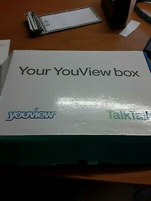 NEW Talktalk Youview freeview box