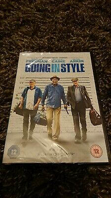 Going in Style (DVD 2017) Morgan Freeman, NEW AND SEALED