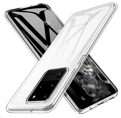 Case For Samsung Galaxy models S10 Plus S10e S9 S8 Silicone Clear Gel Cover 2019