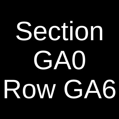 2 Tickets The Band Camino 9/17/19 The Mod Club Theatre Toronto, ON