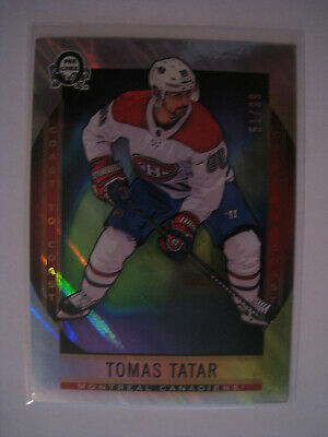 Tomas Tatar 2018-19 Upper Deck O-Pee-Chee OPC Coast to Coast POLAR LIGHTS  /99