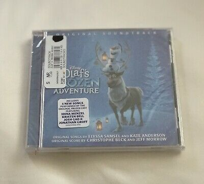 Disney 2017 Olaf's  frozen adventure DVD Brand New In Package