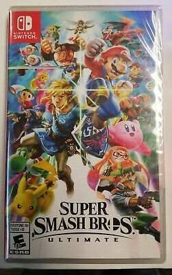 Super Smash Bros. Ultimate (Nintendo Switch 2018) BRAND NEW SEALED FAST SHIPPING
