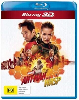Ant Man And The Wasp Blu-Ray 3D