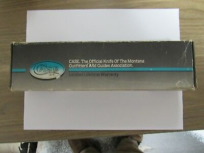 """Old Case Knives Box - For Fixed Blade Hunter #383 - 10 3/8"""" Long"""