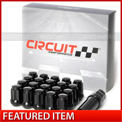 Circuit Performance Red Tuner Forged Steel Lug Nut 12x1.5 Fits Chevy Cadillac