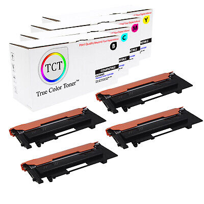 TCT 4PK CLT406S Color Toner Cartridge Set Samsung CLP 360 365 CLX 3300 3305fw