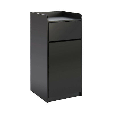 Restaurant Trash Bin Fast Food Garbage Receptacle Tray Holder Up To 36 Gallons