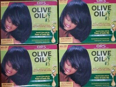 5 x ORS Original Root Stimulator Olive Oil Hair Relaxer No Lye EXTRA STRENGTH