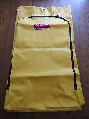 NEW RUBBERMAID Commercial Products YELLOW 24 GALLON CLEANING CART BAG #1966719