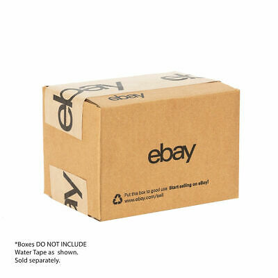 "3-pk eBay-Branded Shipping Boxes with Black eBay Logo 6"" x 4"" x 4"" -- Lot of 3"