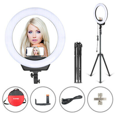 "Zomei 16"" camera LED Ring Light Dimmable Lighting for Photography Youtube Makeup"