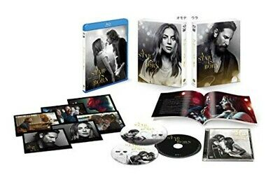A Star Is Born Premium Edition Blu-ray DVD Soundtrack CD Booklet Post Card Japan