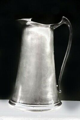Sheffield Silver Co Silverplate Water Pitcher Made in USA  Tall Tank Style