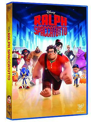 dvd nuovo sigillato film RALPH SPACCATUTTO ANIMAZIONE DISNEY in version italiana