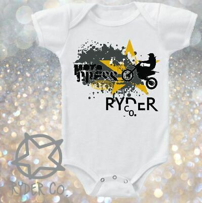 Star Motocross Romper One Piece  ~ Baby CLEARANCE