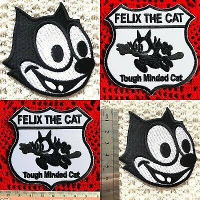 FELIX THE CAT Embroidered Iron on Patch Subsidies DIY Decor Badge Appliques