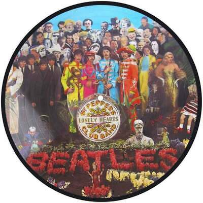 """The Beatles Sgt Peppers Lonely Heart Club Band Sticker 100Mm Round 4"""" Quality"""