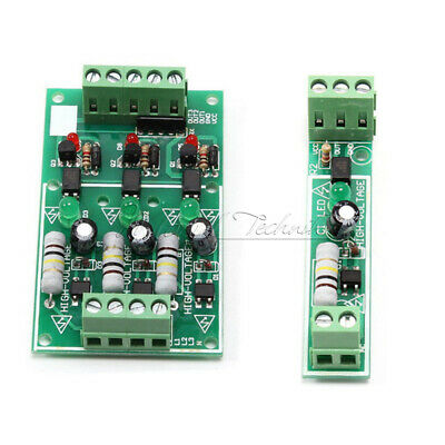 1/3 Channel Bit Optocoupler Isolation Module Board Adaptive For PLC AC 220V