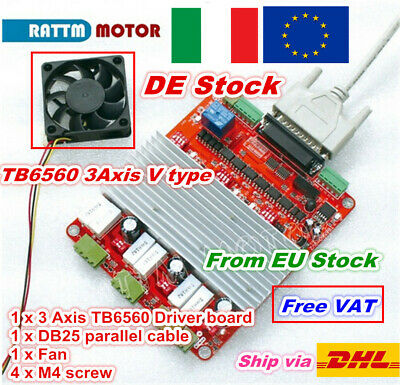 〖IT〗 3 Axis TB6560 Stepper Motor Driver Board CNC Controller Card for CNC Router