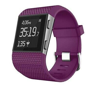 Fitbit Surge Fitness Super Watch - Size Small - With Purple Strap