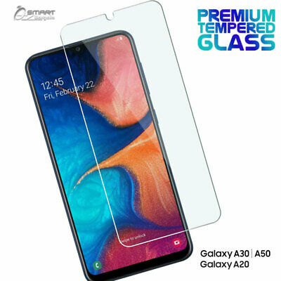 Tempered Glass Screen Protector Guard For Samsung Galaxy A20  A30  A50
