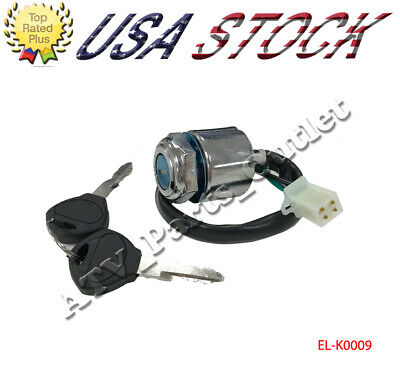 Batteries & Accessories MagiDeal Ignition Key Switch For Polaris ATV Sportsman 500 Ho 2001 With Key 6 Pin Automotive