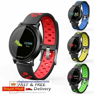 F4S Screen Bluetooth Smart Watch Fitness Tracker Bracelet for Android and iOS