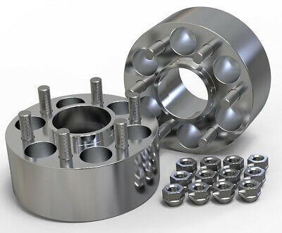 50Mm 6X139.7 67.1Mm Hubcentric Wheel Spacer Kit Uk Made Toyota Hiace Granvia