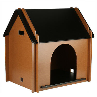 Outdoor Extra/Large Dog Winter House Pet MDF Dogs Kennel Shelter Easy Cleaning