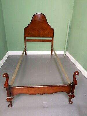An Antique Style Vono Walnut Single Bed Frame ~Delivery Available~