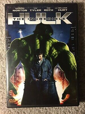 The Incredible Hulk - Edward Norton , Liv Tyler - Like New R3 DVD