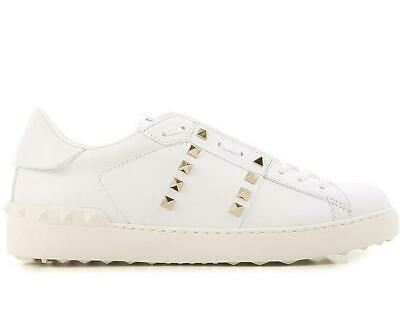bf56e3acb9a1a Valentino Garavani sneakers shoes woman PW2S0A01BHS 0BO Rockstud Untitled  white