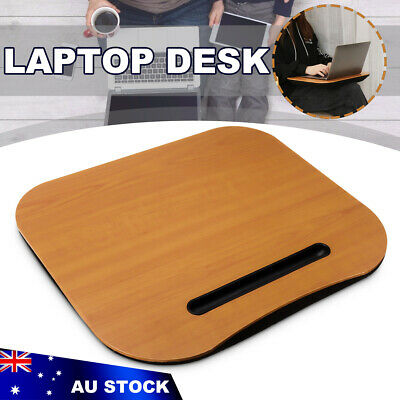 Portable Knee Warm Table Lap Desk Laptop Office Computer Home Stable Stand AU