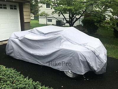 VW Buggy Dune Baha Hot Rod Custom Waterproof 9 Layer Car Dust Cover UV Fleece ln