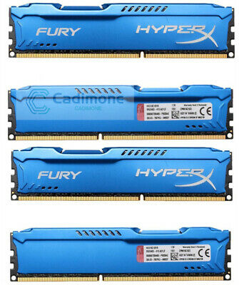 8GB 16GB 32GB For Kingston HyperX FURY PC3 DDR3-1600MHz DIMM Desktop Memory RAM