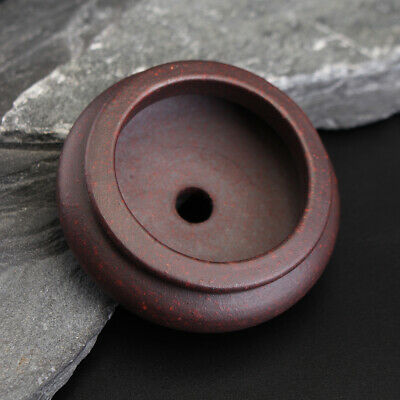 Garden Chinese Style Zisha Flower Pot Mini Round Pot Indoor Bonsai Succulent Pl