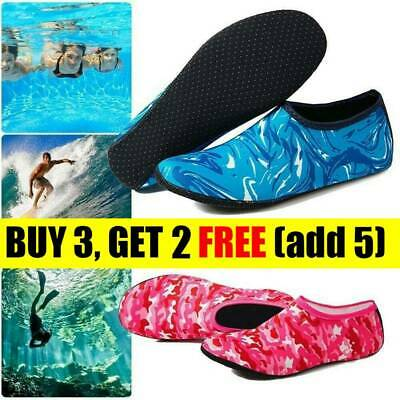 FASHION SEA WATER Shoes Slip On Quick-Dry Socks Diving Yoga