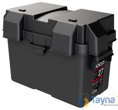 NOCO HM327BK Group 27 Snap-Top Batterie Box
