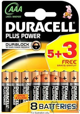 Duracell AAA - Eight Pack (Five Plus Three Free)