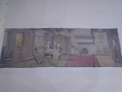 3550 -Old Tapestry  Antique Wall Hanging 20 Century 168  x 56 cm