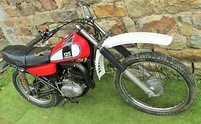 1976 Yamaha DT e DT1 Classic Japanese Vinduro easy Project Twinshock Trail Bike