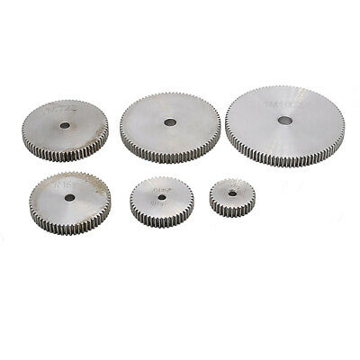 1 Mod Spur Gear 10T-150T Teeth Transmission Gear 10mm thickness 45# Steel Gear