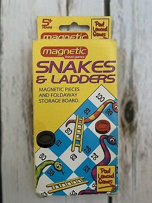 Mini Snakes And Ladders Board Game - Paul Lamond Magnetic Travel Games