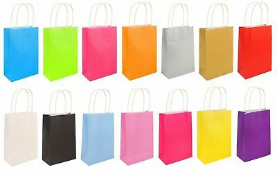 PARTY BAGS With Handles Girls/Ladies Craft Paper Hen Party Wedding Birthday Gift