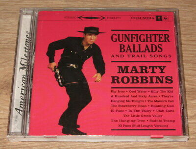 Marty Robbins - Gunfighter Ballads And Trail Songs [Remastered] (CD 1999)